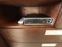 DVDプレイヤー(2010年製)セパレートタイプ DVD無料レンタルサービスもございます