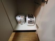 炊飯器・電気ポット ご自由にお使い下さい