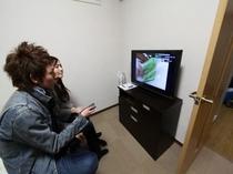 洋室8帖 32型テレビ・DVDプレイヤー・ベット・ソファー・掃除機等設備充実