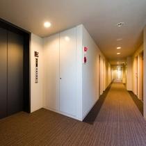 客室廊下②