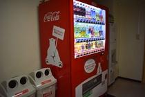 5階自販機コーナー★アルコールの販売は館内にはございません。