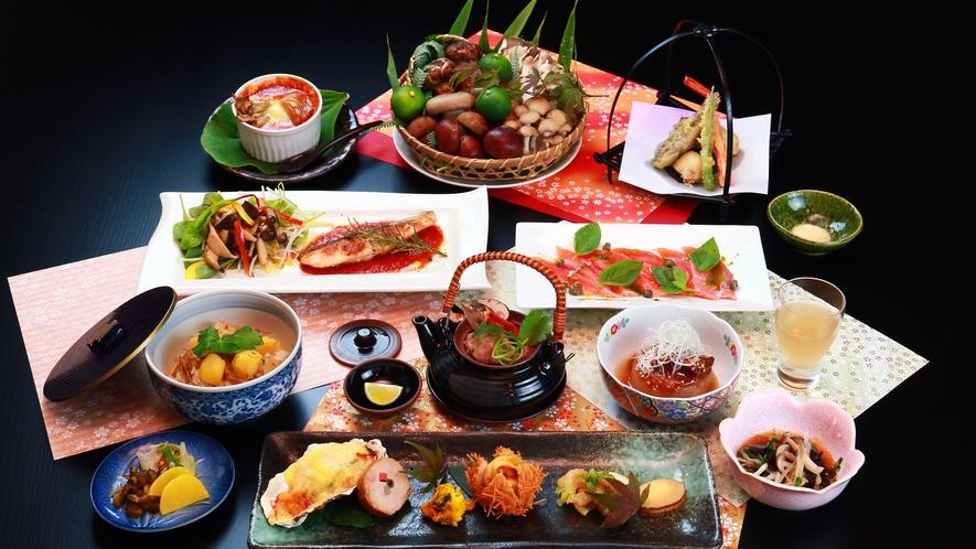 【お料理一例】秋のスタンダード