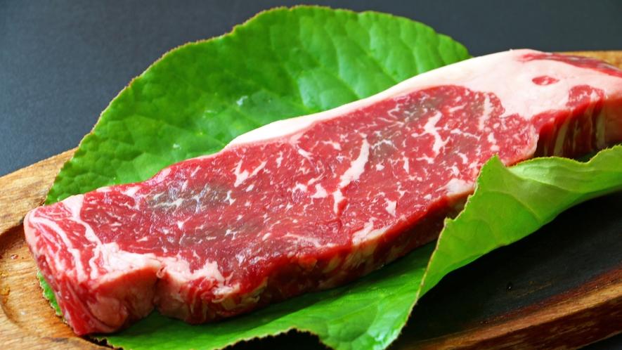 【栃木県産牛ステーキ】