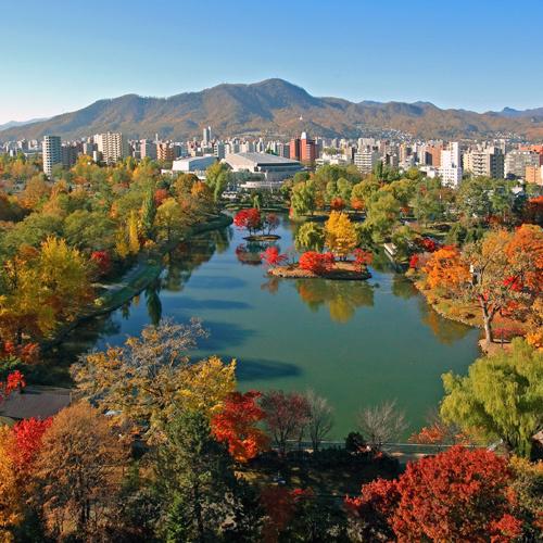 【秋】中島公園