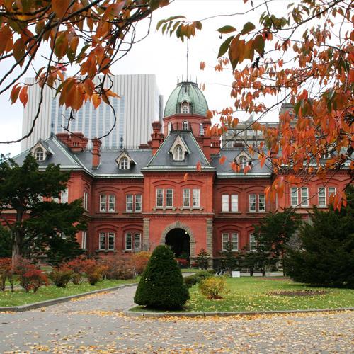 【秋】北海道庁旧本庁舎(赤レンガ)