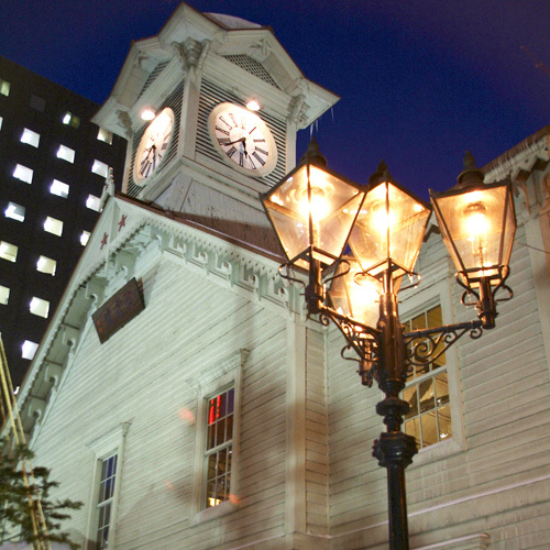 【冬】時計台