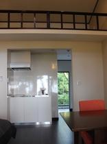 部屋、キッチン