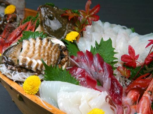 【DXプラン】豪華船盛&アワビ踊り焼き+アワビお刺身+のどぐろ+オコゼ+カニ【会場食(テーブル席)】