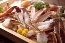 蟹刺し&焼き蟹用