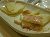 さらべつチーズ工房のチーズセット