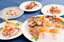 女子会コース料理イメージ
