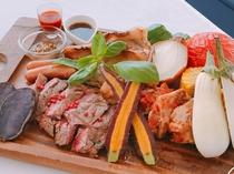 肉フェスディナー