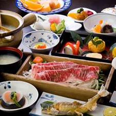 【二食付】蘇りの地、わかやま しゃぶしゃぶなど、豊富な温泉湯を使ったお食事が人気