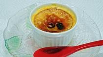 (朝食)京丹波産黒豆きな粉のクレームブリュレ
