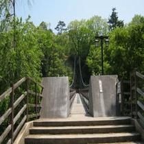 七つ岩吊橋