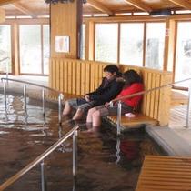観光施設「ゆっ歩の里」足湯