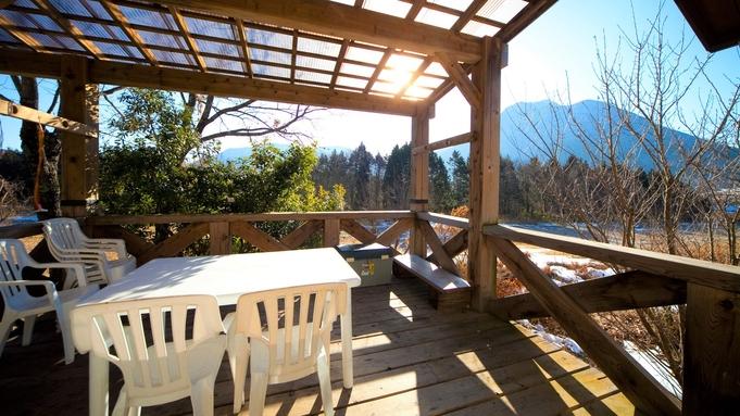 【4〜10月限定/お肉好き必見】豊後牛と地鶏のわいわいセット☆屋根付テラスでBBQプラン(2食付)