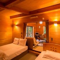 【福寿草】寝室