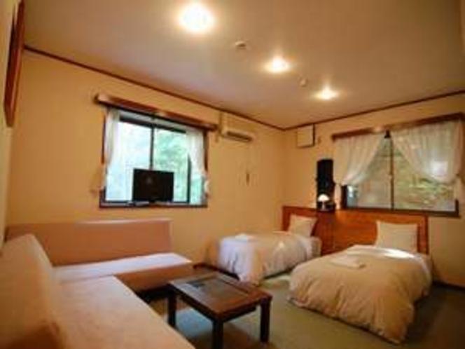 洋室ワイド♪ご家族、グループ様向けの広いお部屋