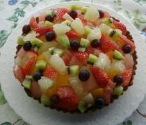 奥様の手作りケーキ1