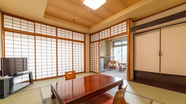 【ワンちゃん専用フロア】和室(10畳)湯畑側