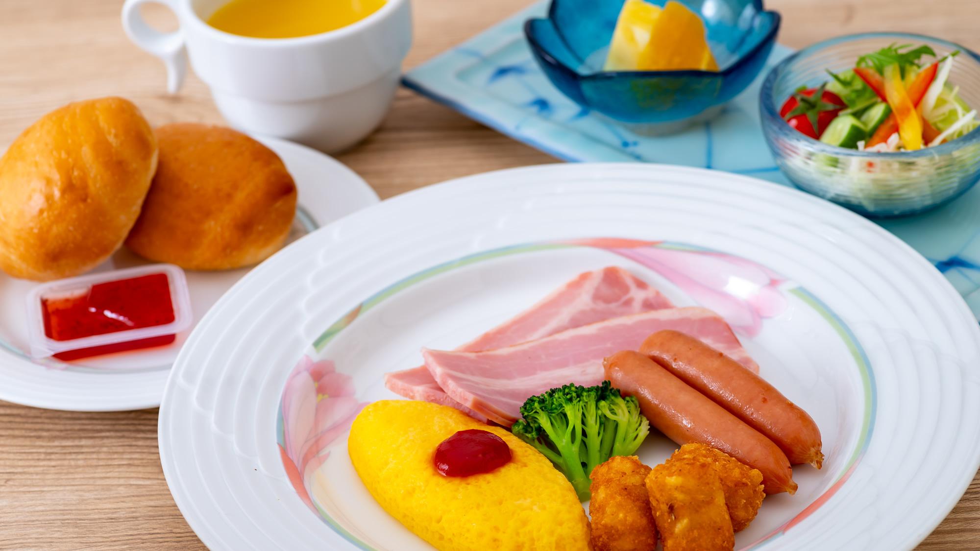 幼児用お子さま料理(朝食)