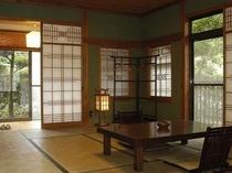 【紅葉の間】一棟完全離れ露天風呂付き客室