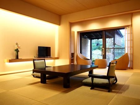 12.5畳+ダイニング食事室 温泉露天風呂付