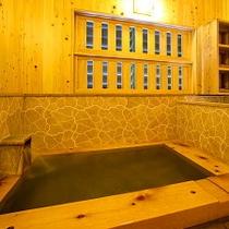 ひのき風呂(内湯)