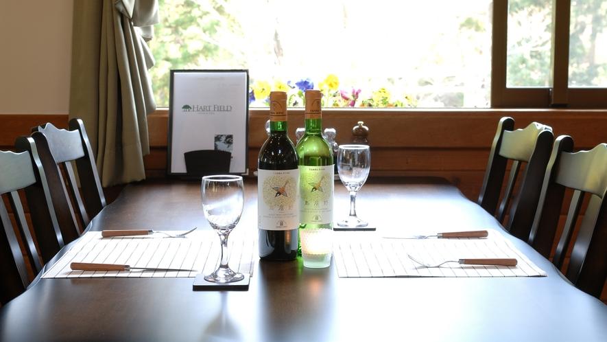 *ワインで乾杯♪記念日のお祝いにピッタリのワインをご用意しております。