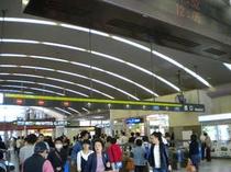 道案内①京都駅西口