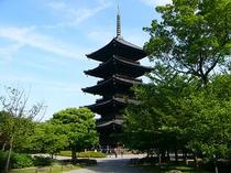五重塔  東寺
