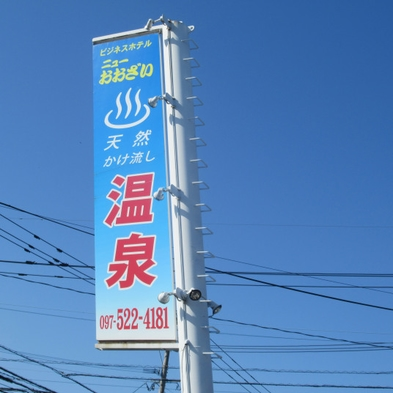 【楽天トラベルセール】【素泊まり】天然温泉・サウナ付きプラン