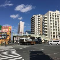 *【堺駅からのルート⑤】大浜北町交差点。国道26号線を南下し、5分くらいで右手に当館が見えます。