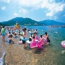 松原海岸 松原海水浴場(当館〜車で約50分)