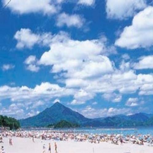 若狭和田海水浴場(当館〜車で約25分)