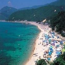 水晶浜(当館〜車で約65分)