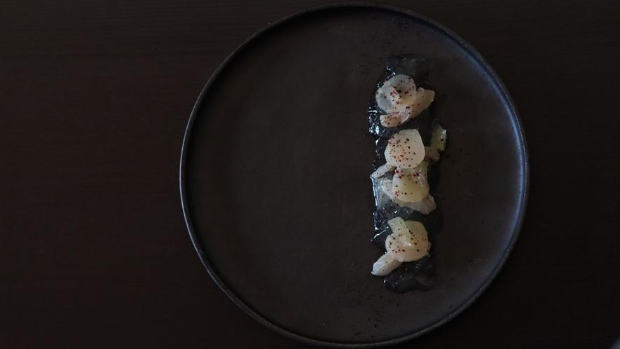 岩魚と独活