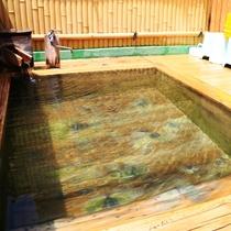 当館では、渋温泉の3つの源泉をブレンドしています