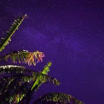*【竹富島の星空】空気が綺麗で光の少ない島内は、街では考えられないくらいの星空を体験できます。