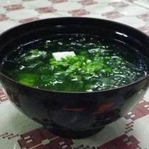 *【夕食一例】あーさー汁