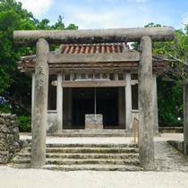 *【西塘御嶽】竹富島の偉人「西塘」を祀っている神聖な場所。