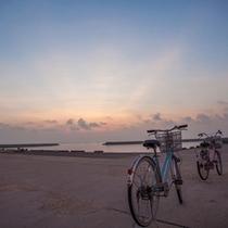 *【朝陽】日の出なら港が一番のスポット!早起きして自転車でひとっ走り見に行きましょう♪
