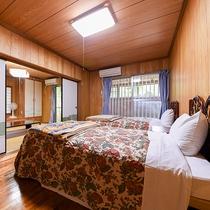 *【別館・和洋室】シングルベッド2台のツインタイプのお部屋