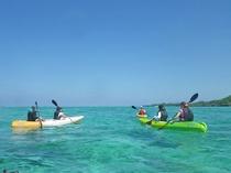 【シーカヤック】今帰仁ブルーの海に漕ぎ出してみませんか?