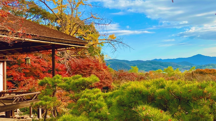 ◆大河内山荘庭園