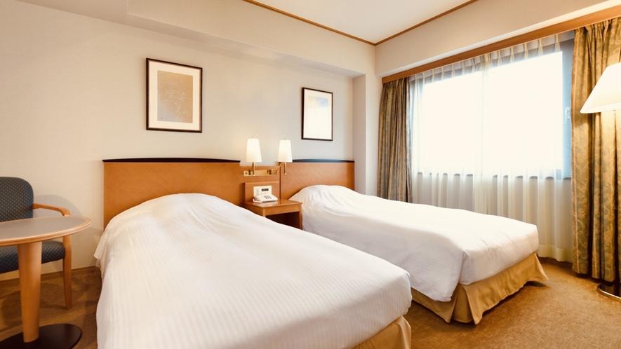 ◆デラックスツイン(ベッド)【ベッド幅:110cm】