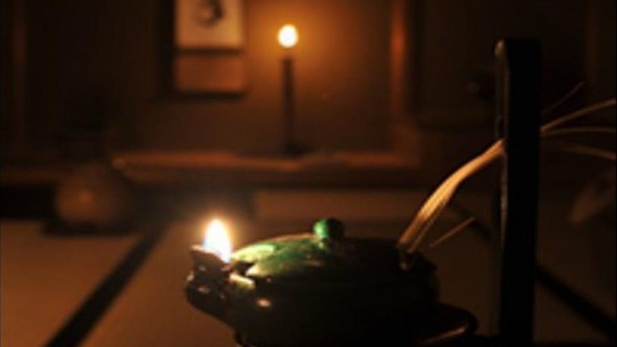 ◆冬の夜の茶会