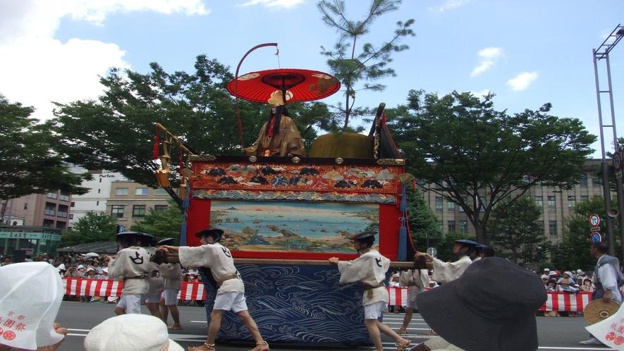 ◆京都三大祭のひとつ『祇園祭』