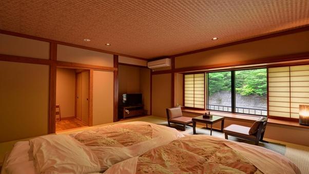 【新館和室】〜藍・橙〜川沿いのお部屋